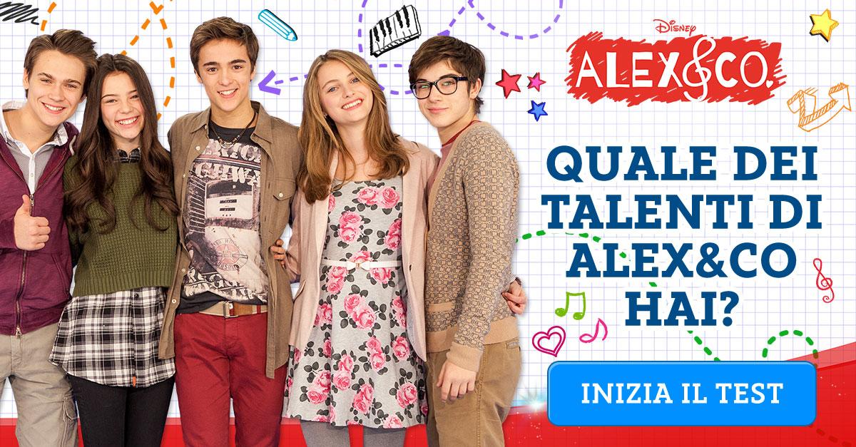 Quiz quale dei talenti di alex co hai for Alex co amazon